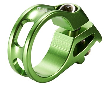 Reverse Trigger shifter clamp for SRAM green