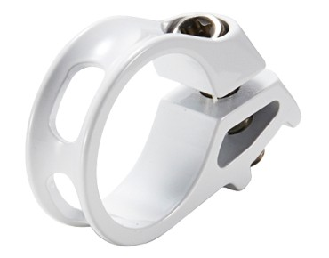 Reverse Trigger shifter clamp for SRAM white