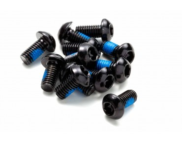 Reverse fixing bolt set black