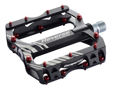 Reverse Escape PRO pedals black/red