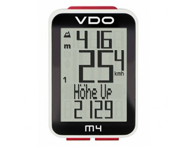 VDO M4 WR bike computer, wired
