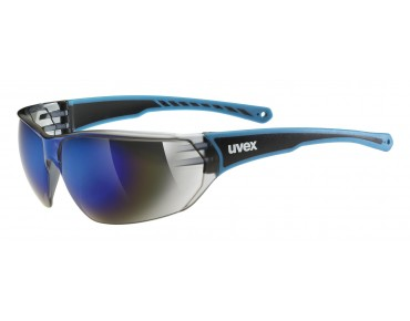 uvex SPORTSTYLE 204 glasses blue/mirror blue