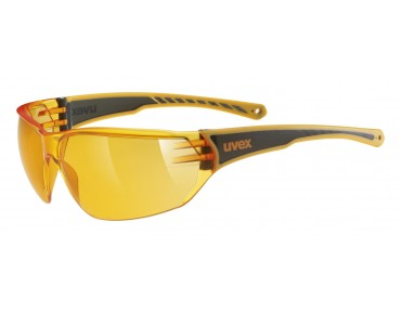 uvex SPORTSTYLE 204 glasses orange/orange