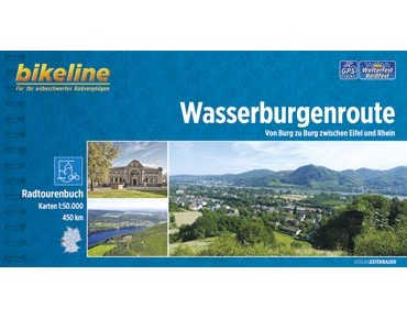 bike line map Wasserburgenroute