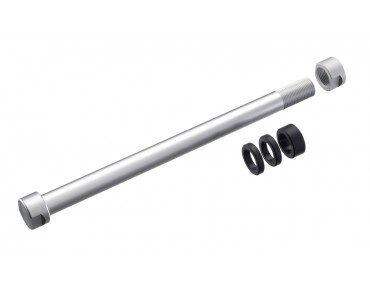 Tacx T1706 and T1707 thru axle adapter for the rear wheel