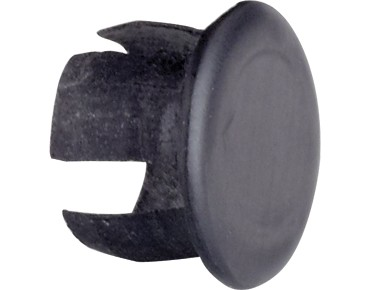 ROSE carbon handlebar plugs Carbon Matt