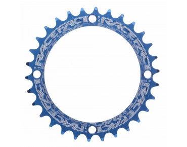 Race Face Single Speed Super Narrow chainring blau
