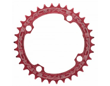 Race Face Single Speed Super Narrow chainring red