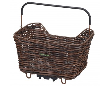 Racktime Bask-it Willow front bicycle basket brown