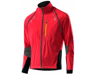 Löffler SAN REMO GORE WINDSTOPPER SOFTSHELL LIGHT zip-off jacket red