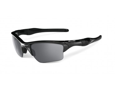 OAKLEY HALF JACKET 2.0 XL Sportbrille polished black/ black iridium