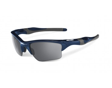 OAKLEY HALF JACKET 2.0 XL Sportbrille polished navy/ black iridium