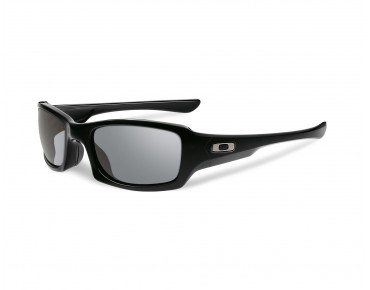 OAKLEY FIVES SQUARED - occhiali polished black/grey