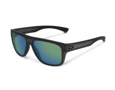 OAKLEY BREADBOX Sonnenbrille matte black ink/jade iridium