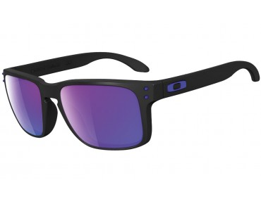 OAKLEY HOLBROOK sports glasses matte black/violet iridium