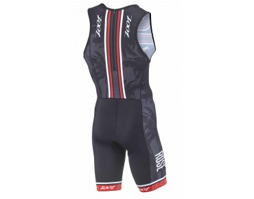 ZOOT ROSE trisuit black/red
