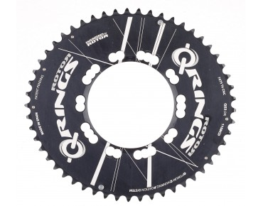 Rotor Q-Rings Aero 53-tooth chainring black