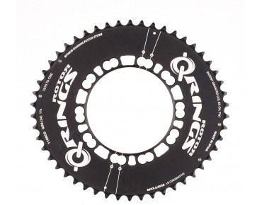 Rotor Q-Rings Aero 50 tooth chainring black