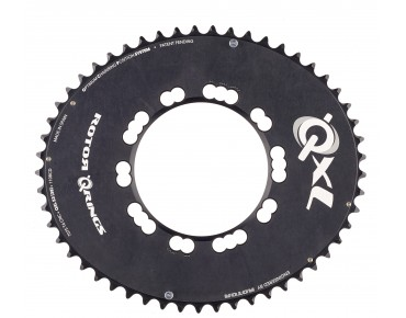 Rotor QXL Aero 53-tooth chainring black