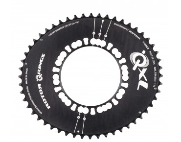 Rotor QXL Aero 52-tooth chainring black