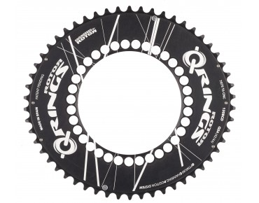 Rotor QXL Aero 54 teeth chainring black