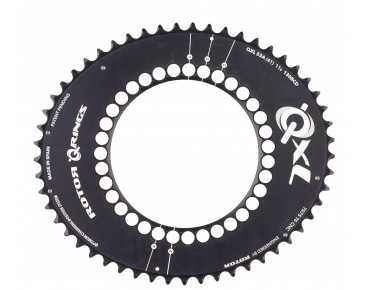 Rotor QXL 53-tooth chainring black