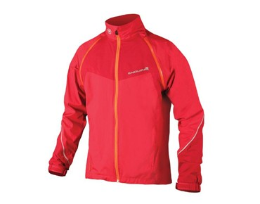 ENDURA HUMMVEE CONVERTIBLE zip-off jacket red