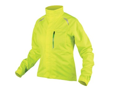 GRIDLOCK II women's waterproof jacket hi-viz yellow