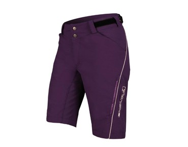 ENDURA SINGLETRACK LITE women's shorts purple