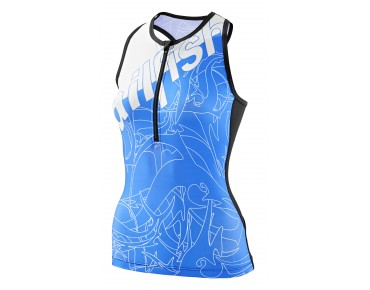 sailfish SPIRIT women's tri top blue