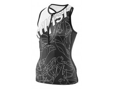 sailfish SPIRIT women's tri top black