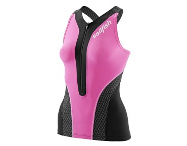 sailfish COMP women's tri top pink