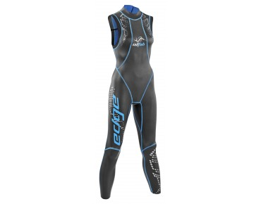 sailfish EDGE ärmellos Damen Schwimmanzug black