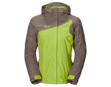 Jack Wolfskin COOL WAVE Damen Jacke glowing green