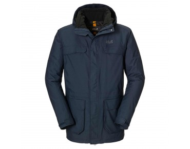 Jack Wolfskin NORTH BAY PARKA jacket night blue