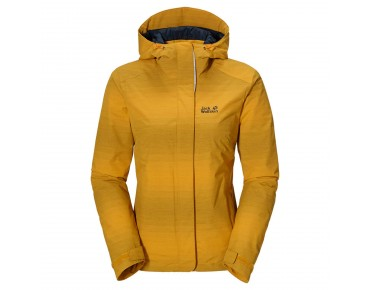 Jack Wolfskin RICHMOND HILL women's jacket golden yellow