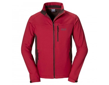 Jack Wolfskin TIMBERLINE Softshell Jacke indian red