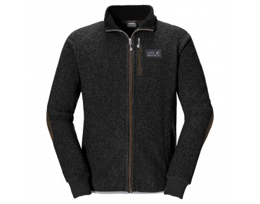 Jack Wolfskin MILTON men's fleece jacket black