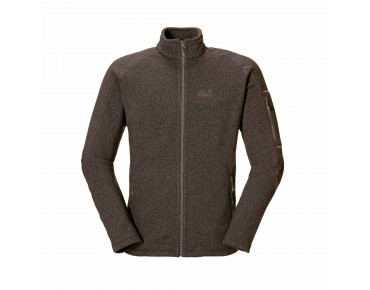Jack Wolfskin CARIBOU LODGE Fleece Jacke mocca