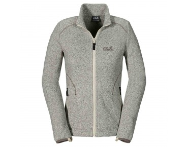 Jack Wolfskin CARIBOU ASYLUM women's fleece jacket white sand
