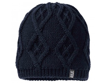 Jack Wolfskin PLAIT beanie night blue
