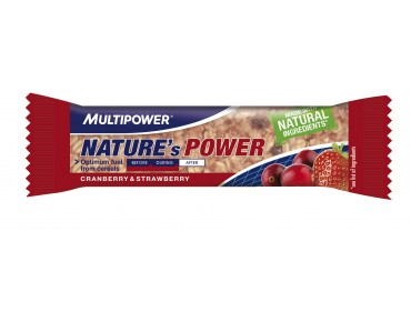 Multipower NATURE'S POWER BAR Cranberry & Strawberry