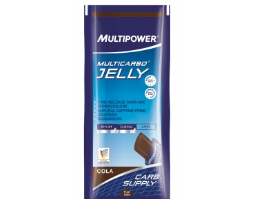 Multipower MULTICARBO® JELLY gel bar cola