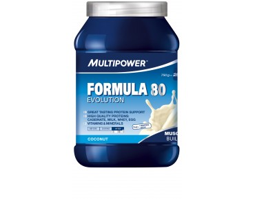 Multipower Formula 80 Evolution Getränkepulver Coconut