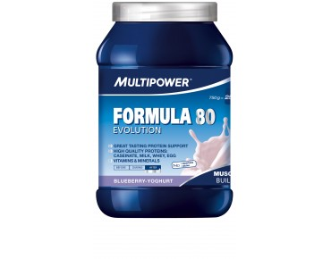 Multipower Formula 80 Evolution Getränkepulver Blueberry-Yoghurt