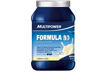 Multipower FORMULA 80 EVOLUTION drink powder Lemon-Curd