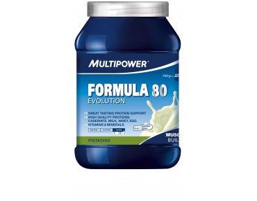 Multipower FORMULA 80 EVOLUTION drink powder pistachio
