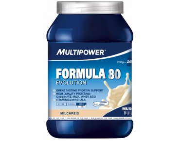 Multipower FORMULA 80 EVOLUTION drink powder Milchreis