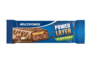 Multipower Power Layer Riegel Chocolate-Caramel-Nuts