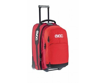 evoc TERMINAL BAG 40L + 20L Reisetrolley red/ruby
